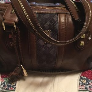 L.A.M.B leather Roma bag